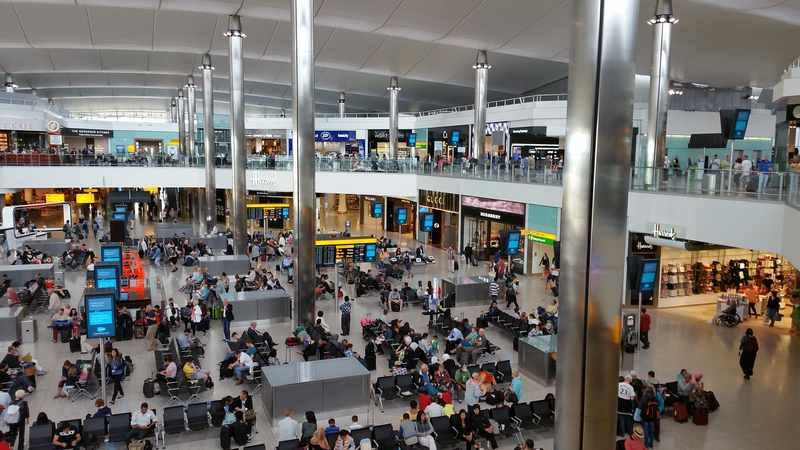 aeroportos de londres