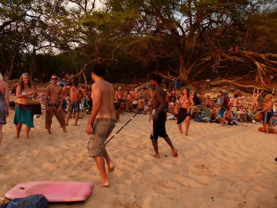 Praia no Hawaii
