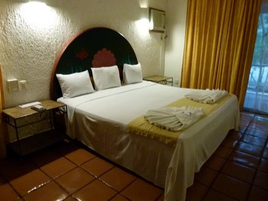 Esse é um outro quarto que visitei dentro do hotel El Tukan