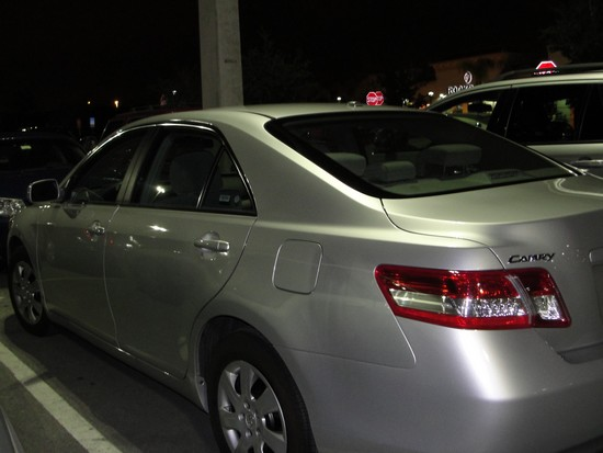 O fatídico carro sem GPS