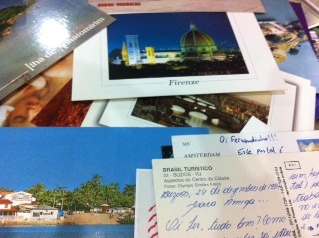 Meus postais...