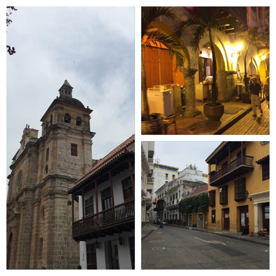 Detalhes da cidade amuralhada - Cartagena das Indias