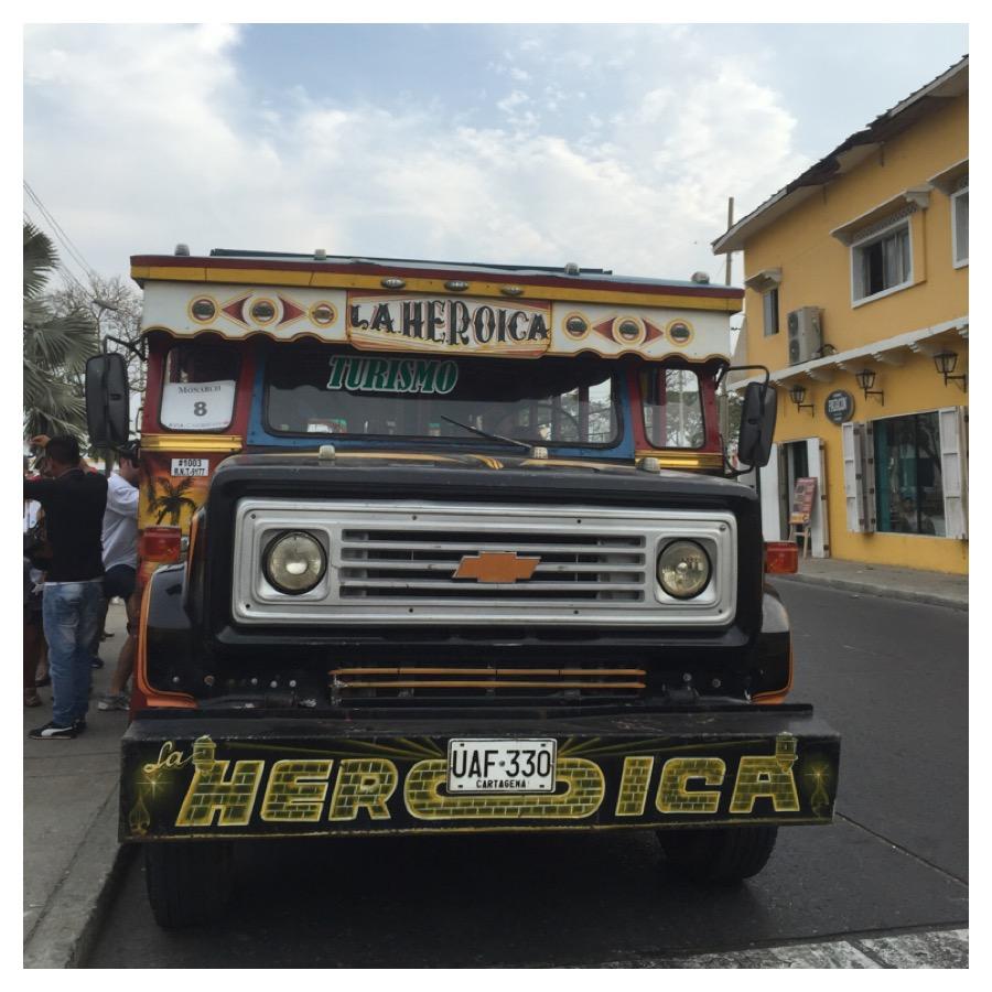 Chiva Bus - Cartagena das Indias