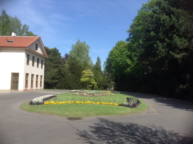Jardins do Palácio Real em Praga