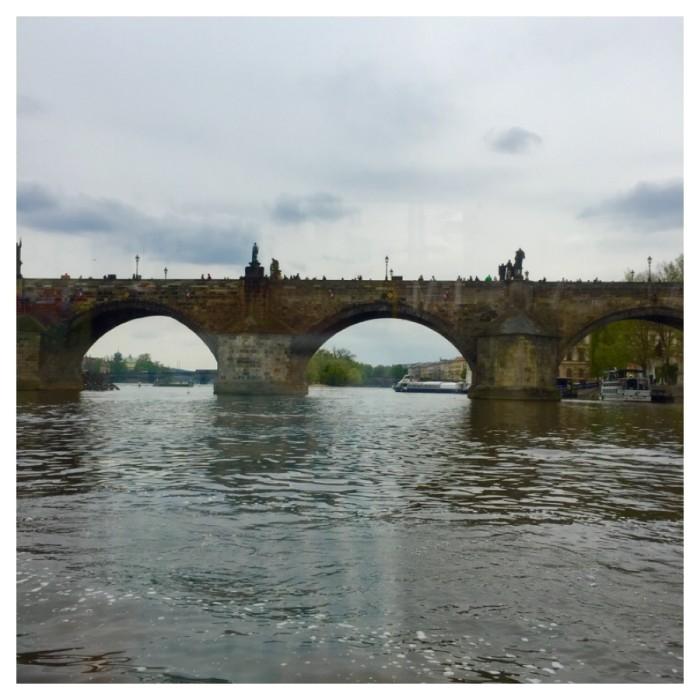 Passeio de barco em Praga