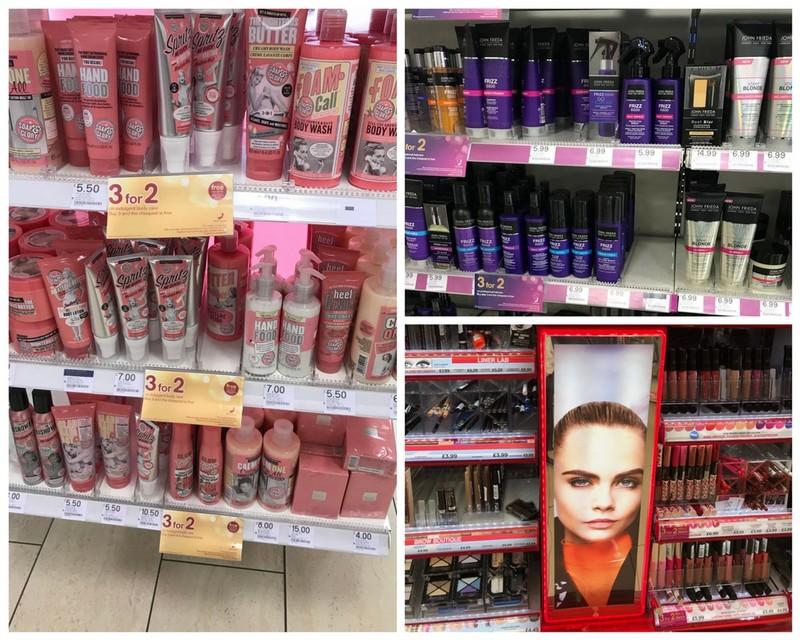 comprar cosméticos em londres