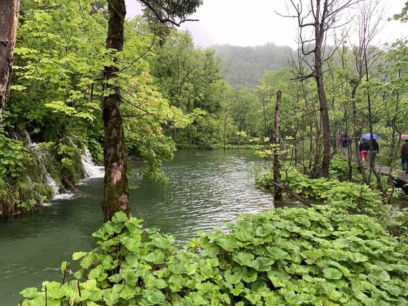 lagos plitvice na croácia