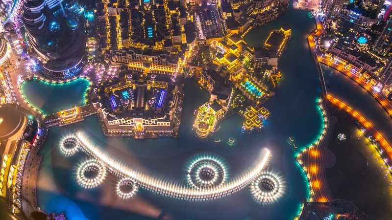 show águas dançantes burj khalifa