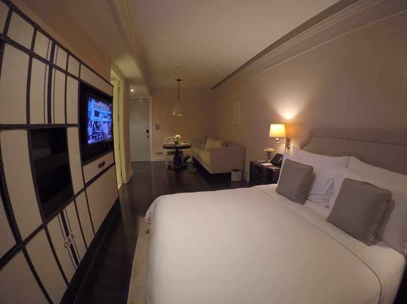 quarto hotel Oriental Residence