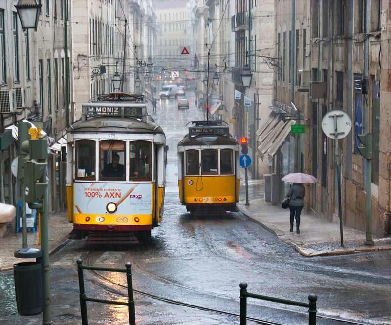 lisboa com chuva: o que fazer