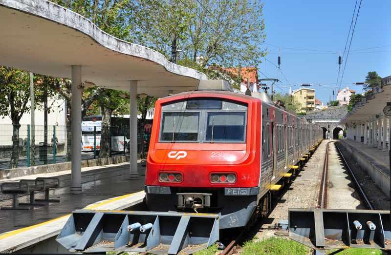 estação de trem de sintra portugal