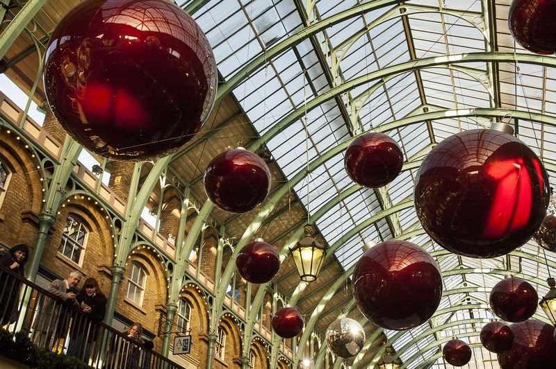 decoração natal em londres