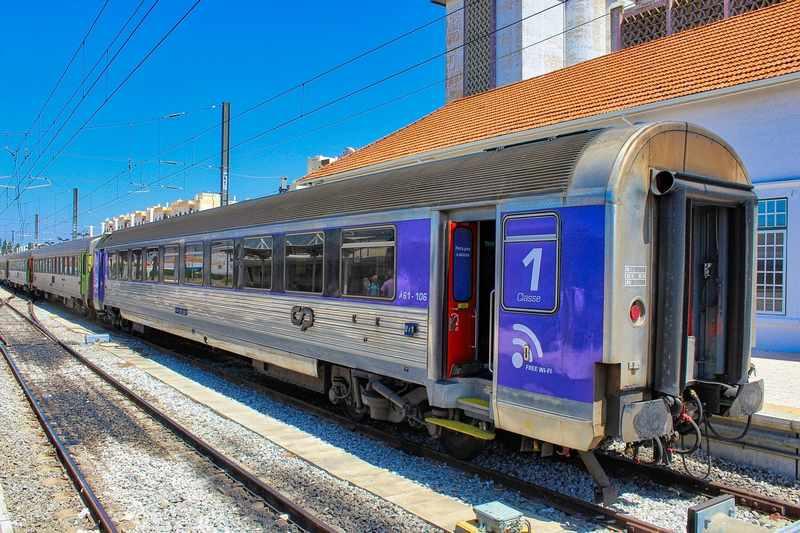 estação de trem de faro portugal